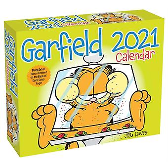 Garfield 2021 DaytoDay Calendar by Davis & Jim