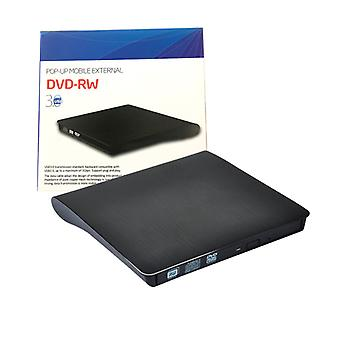 Extern cd-dvd-station voor laptop