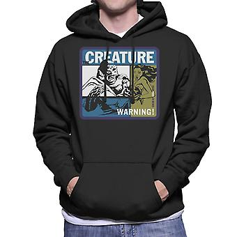 The Creature From The Black Lagoon Swim At Your Own Risk Men's Hooded Sweatshirt