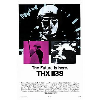THX 1138 Movie Poster (11 x 17)