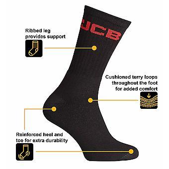 Offizielle JCB Hosiery Range - Crew Socken