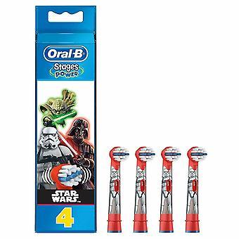 Oral-B Stadia Power Star Wars elektrische tandenborstel vervanging hoofden 4pk