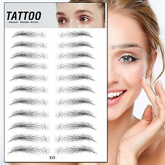 Magic False 4d Hair Eyebrow Tattoo Sticker - Waterproof Lasting Makeup Eye Brow