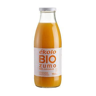 Organic Natural Orange Juice 750 ml