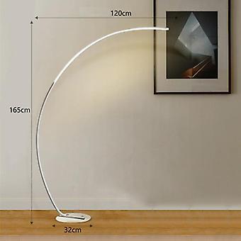 Modern Remote Control Led Floor Lamp For Cafe Living Room Bedroom Foyer