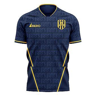 Atletico 2020-2021 Away Concept Football Kit (Libero) - Kinderen