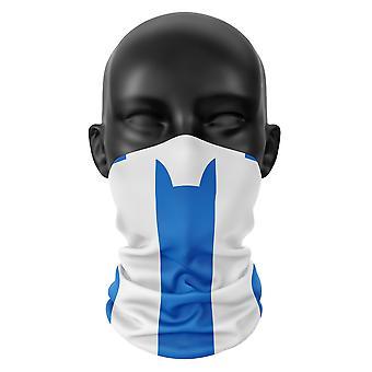 Huddersfield FC Farben Snood Gesicht Maske Schal Fußball Club Buff Kopfbedeckung Tube