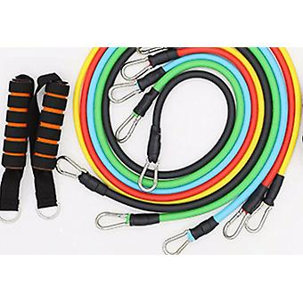 Latex Resistance Elastic Bands Fitness With Bag With Tubes Pull Rope