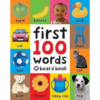 First 100 Words UK Edition Soft to Touch Board Books First 100 Soft To Touch