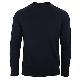 Barbour international mens international navy sweater
