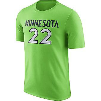 Minnesota Timberwolves No.22 Minnesota Short T-shirt Sports Tops 3DX101