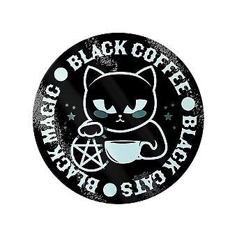 Grindstore Black Cats Black Magic Black Coffee Chopping Board
