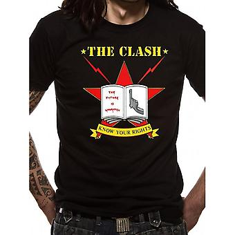 The Clash Adults Unisex Adults Know Your Rights T-Shirt
