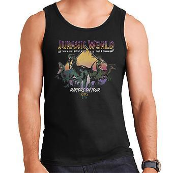 Jurassic Park Raptors Kiertueella 2015 Men's Vest