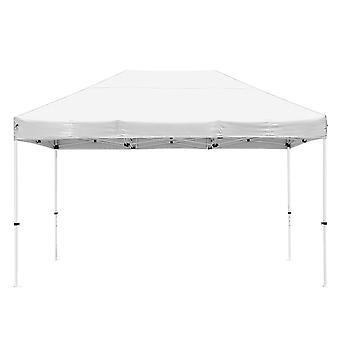 Instahibit 10x15 ft Pop Up Canopy Tent CPAI-84 Commercial Trade Fair Ez up Canopy Shade Party Tent