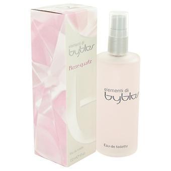 Quartz Rose Byblos par Byblos Eau De Toilette Spray 4 oz/120 ml (femmes)
