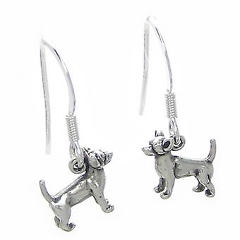 Chihuahua Tiny Dog Oorbellen Sterling Silver .925 Paar Chihuahuas