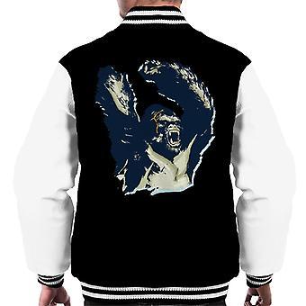 King Kong Arms Up Rage Men's Varsity Jacket