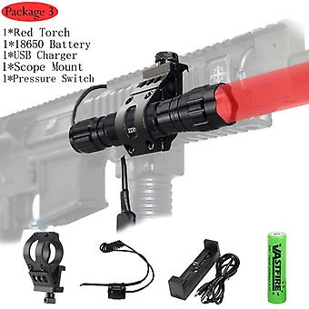 Led Hunting Airsoft 501b Scout Light Outdoor Rifle Flashlight