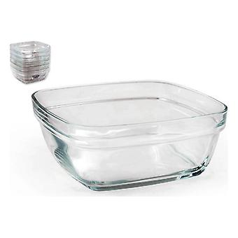 Salad Bowl Duralex Stackable Au carré (1