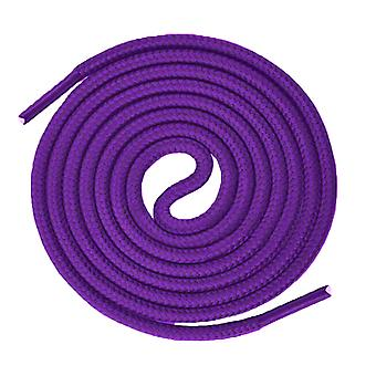 Purple Round Sport Trainer Shoelaces