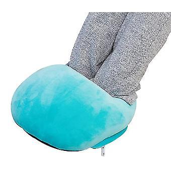 usb elektrisk fot varmere myk varm fleece elektrisk oppvarmet sko usb varmeovner for kalde føtter for menn kvinner student
