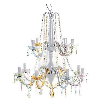 Luz de techo DKD Home Decor Acrylic Metal (66 x 66 x 120 cm)