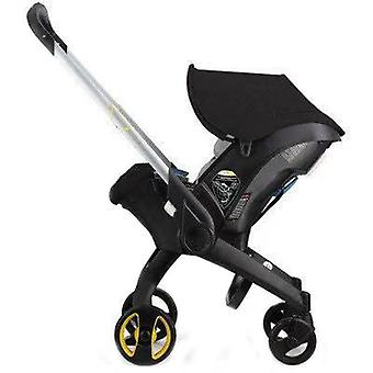 Baby Stroller With Car Seat Bassinet High Landscape Folding Baby Carriage Prams