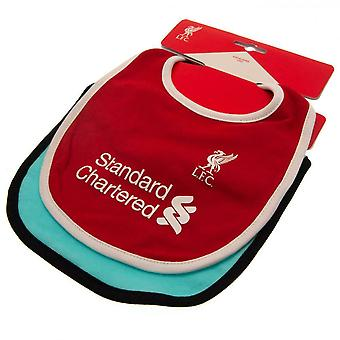 Liverpool FC Baby 2020 21 Bibs (Pack of 2)