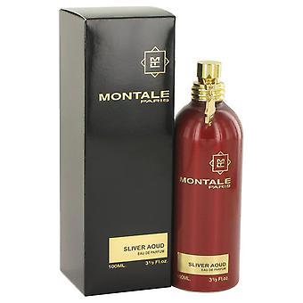 Montale Silber Aoud Eau De Parfum Spray von Montale 3,3 oz Eau De Parfum Spray