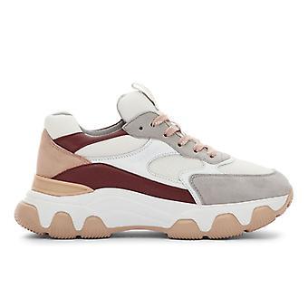 Sneaker Femmes Hogan Hyperactive Bordò E Rosa