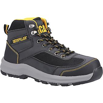 CAT Workwear Mens Elmore Mid Safety Hiker Work Boots