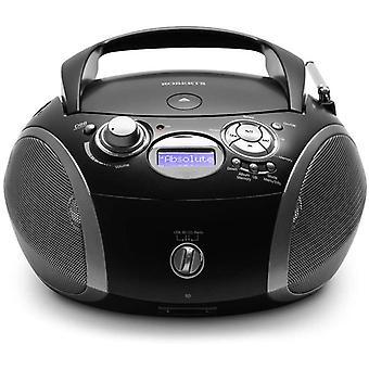 DZK Radio ZoomBox 3 DAB/DAB+/FM/SD/USB Radio with CD Player - Black