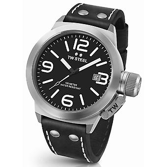 TW acero CS2 Cantina Reloj masculino 50mm