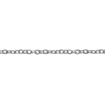 """Sterling Silver Chain - Belcher fine 18"""""""