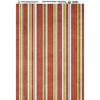 Nitwit Collection - DF Stripe Paper A4 10 Sheets