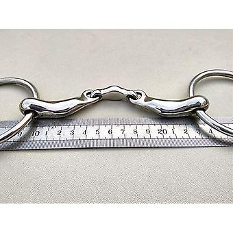 New Stainless Steel Ring Snaffle Bit Horse Product