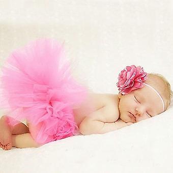 Newborn Photography Props, Cute Princess Skirt Handmade