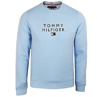تومي هيلفيغر الرجال & ق الأزرق الحلو مكدسة سترة العلم