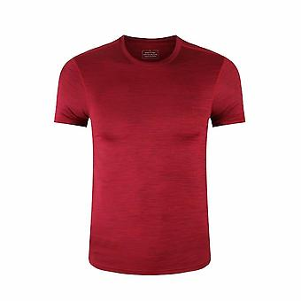 Sports Gym T-Shirt Men Short Sleeve Dry Fit Compression stretch Top Fitness Training