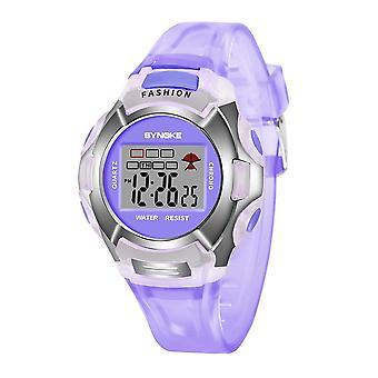 Zegarek dla dzieci,,, Led Digital Sports Watches, Plastic Kids Alarm, Data, Casual