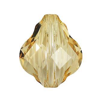 سواروفسكي كريستال، #5058 حبة الباروك 14mm، 1 قطعة، كريستال الظل الذهبي