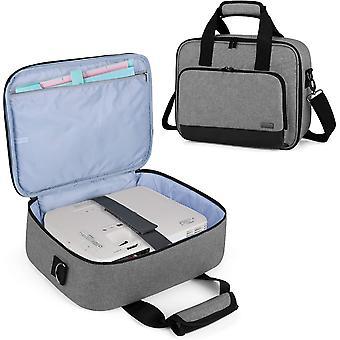 FengChun Beamer Tasche, Tragbar Projektor Tasche für Transport und Aufbewahrung (Kompatibel