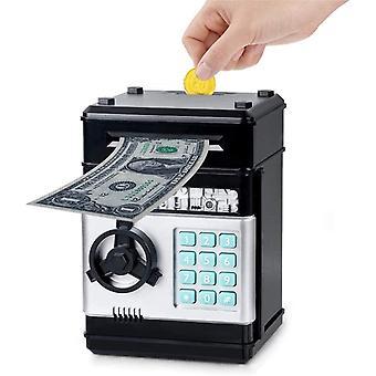 FengChun Sparschwein Sparbüchse Elektronischer Geldautomat Auto-Scroll Cash Coin Sparschwein