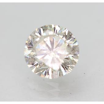 Certified 1.29 Carat G SI1 Round Brilliant Enhanced Natural Loose Diamond 6.66mm