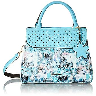 Laura Vita 4235, Shoulder strap, Bag with Handle. Woman, Turquoise, Medium(2)