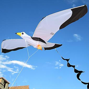 3d Seagull Kite Kids Toy With Tailfun Outdoor Flying Activity Game With Family