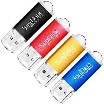 FengChun 16GB USB Flash Drive 4Pack 16GB USB 2.0 Memory Stick Daumen laufwerke Usb-Stick für