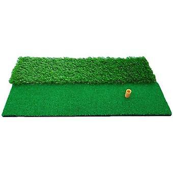 holdbar torv golf praksis treffer matte med tee kjøring chipping golf gress mat golf treffer pad sette trening hjelpemidler for bakgård hjem utendørs