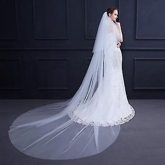 Neue Ankunft lange Brautschleier, Hochzeitsschleier